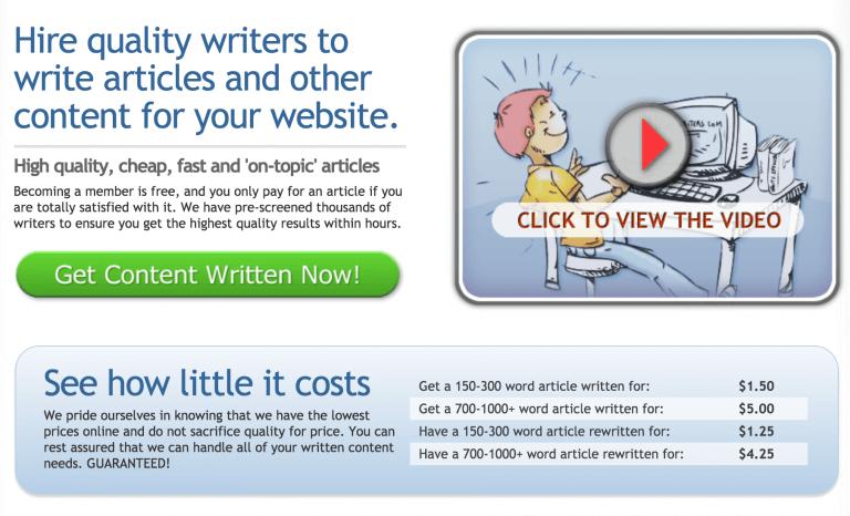 quality writers